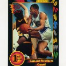 1991-92 Wild Card Basketball #093 Lamont Strothers - Christopher Newport