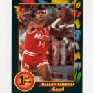 1991-92 Wild Card Basketball #090 Darnell Valentine - Kansas