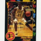 1991-92 Wild Card Basketball #048 Jimmy Oliver - Purdue