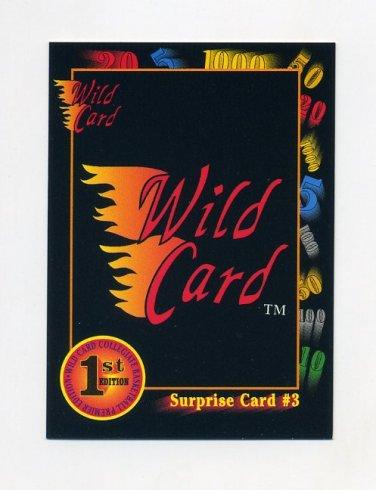 1991-92 Wild Card Basketball #047A Surprise Card 3