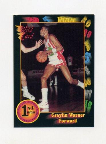 1991-92 Wild Card Basketball #029 Graylin Warner - Southwest Louisiana
