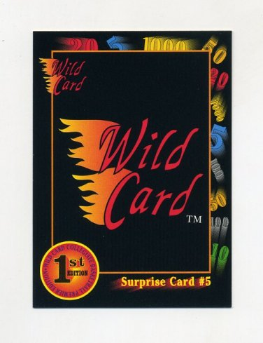 1991-92 Wild Card Basketball #026A Surprise Card 5