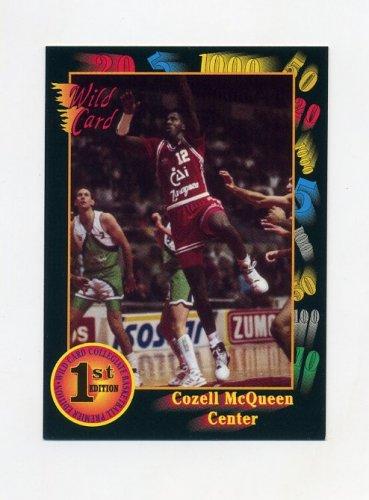 1991-92 Wild Card Basketball #011 Cozell McQueen - North Carolina State