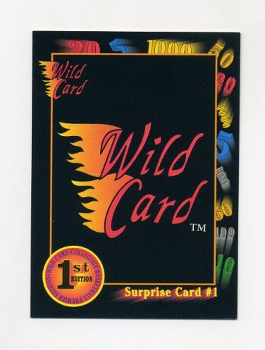 1991-92 Wild Card Basketball #005A Surprise Card 1