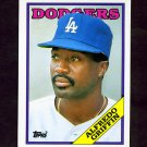 1988 Topps Traded Baseball #043T Alfredo Griffin - Los Angeles Dodgers