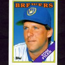 1988 Topps Traded Baseball #037T Tom Filer - Milwaukee Brewers