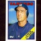 1988 Topps Traded Baseball #028T Jack Clark - New York Yankees