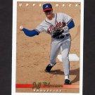 1993 Upper Deck Baseball #591 Jeff Blauser - Atlanta Braves