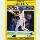 1991 Fleer Baseball #140 Daryl Boston - New York Mets