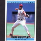 1992 Donruss Baseball #722 Cliff Brantley - Philadelphia Phillies