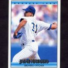 1992 Donruss Baseball #705 Jaime Navarro - Milwaukee Brewers