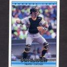 1992 Donruss Baseball #653 Don Slaught - Pittsburgh Pirates
