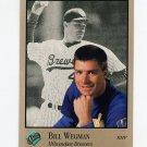 1992 Studio Baseball #199 Bill Wegman - Milwaukee Brewers