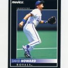 1992 Pinnacle Baseball #086 David Howard - Kansas City Royals