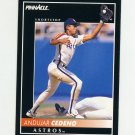 1992 Pinnacle Baseball #084 Andujar Cedeno - Houston Astros