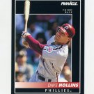 1992 Pinnacle Baseball #067 Dave Hollins - Philadelphia Phillies
