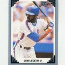 1991 Leaf Baseball #202 Daryl Boston - New York Mets