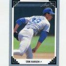 1991 Leaf Baseball #142 Erik Hanson - Seattle Mariners