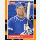 1988 Donruss Baseball's Best #207 Kurt Stillwell - Kansas City Royals ExMt