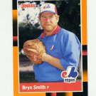 1988 Donruss Baseball's Best #202 Bryn Smith - Montreal Expos
