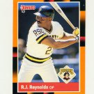 1988 Donruss Baseball's Best #201 R.J. Reynolds - Pittsburgh Pirates