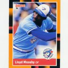 1988 Donruss Baseball's Best #199 Lloyd Moseby - Toronto Blue Jays