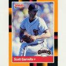 1988 Donruss Baseball's Best #162 Scott Garrelts - San Francisco Giants
