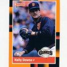 1988 Donruss Baseball's Best #106 Kelly Downs - San Francisco Giants