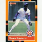 1988 Donruss Baseball's Best #037 Shawon Dunston - Chicago Cubs