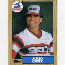 1987 Topps Baseball #790 Julio Cruz - Chicago White Sox ExMt