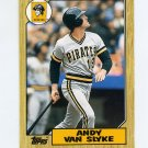 1987 Topps Traded Baseball #124T Andy Van Slyke - Pittsburgh Pirates