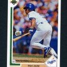 1991 Upper Deck Baseball #688 Stan Javier - Los Angeles Dodgers