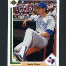 1991 Upper Deck Baseball #610 Jamie Moyer - Texas Rangers