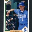 1991 Upper Deck Baseball #587 Kurt Stillwell - Kansas City Royals