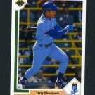 1991 Upper Deck Baseball #521 Terry Shumpert - Kansas City Royals