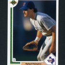 1991 Upper Deck Baseball #474 Rafael Palmeiro - Texas Rangers