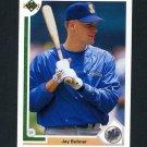1991 Upper Deck Baseball #128 Jay Buhner - Seattle Mariners