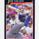 1991 Score Baseball #787 Jose Vizcaino - Los Angeles Dodgers
