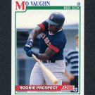 1991 Score Baseball #750 Mo Vaughn - Boston Red Sox