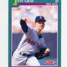 1991 Score Baseball #586 Jeff Gray RC - Boston Red Sox