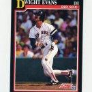1991 Score Baseball #225 Dwight Evans - Boston Red Sox NM-M