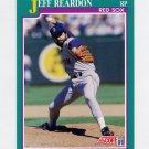 1991 Score Baseball #164 Jeff Reardon - Boston Red Sox