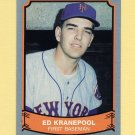 1989 Pacific Legends II Baseball #114 Ed Kranepool - New York Mets