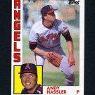1984 Topps Baseball #719 Andy Hassler - California Angels