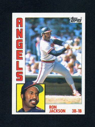 1984 Topps Baseball #548 Ron Jackson - California Angels NM-M