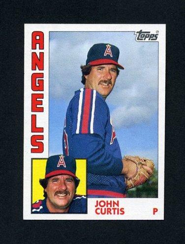 1984 Topps Baseball #158 John Curtis - California Angels