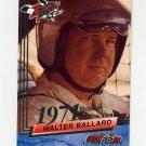 1993 Wheels Rookie Thunder Racing #013 Walter Ballard