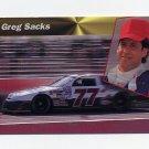 1994 Power Racing #114 Greg Sacks