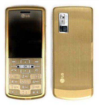 LG KE770 Shine GOLD Tri Band GSM Cell Phone Unlocked
