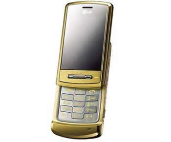 LG Shine KE970 GOLD Tri Band GSM Cell Phone (Unlocked)